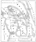 Battle of Roanoke Island: Map of Roanoke Island, North Carolina and the Confederate Forts