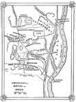 Battle of Saratoga: Plan of the Battles of Stillwater and Saratoga