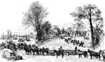 Battle of Seven Pines: White House - McClellan's Base of Supplies on the Pamunkey
