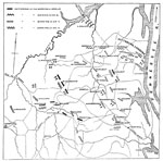 Battle of Shiloh Civil War: Position of the National Troops in the Battle of Shiloh