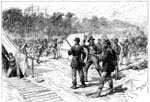 Battle of Shiloh Civil War: Confederate Charge upon Prentiss's Camp of Sunday Morning
