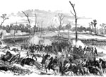 Battle of Shiloh: Engagement of Gen. Lewis Wallace's Division on the Right Wing at the Battle of Pittsburg Landing