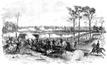 Battle of Shiloh: Gen. Hurlbut's Division Receiving the Combined Attacks of Johnston, Cheatham, Withers, and Breckinridge on April 6, 1862