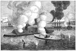 Battle of the Ironclads: Naval Engagement Between the Merrimac and Monitor