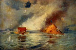 Battle of the Ironclads: Battle Between the Monitor and the Merrimac