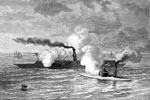 Battle of the Ironclads: Attack of the Monitor on the Merrimack