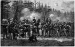 Battle of White Oak Swamp: The Rear Guard - Showing General W. F. Smith's Divisions