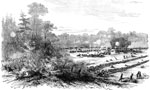 Battle of White Oak Swamp: Battle at Charles City Road, Monday, June 30, 1862