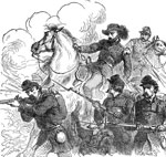 Battle of Wilsons Creek: Scene at Wilsons Creek