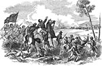 Battle of Wilsons Creek: Death of General Lyon