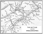 Battles of the Revolutionary War: The Battles Areound Philadelphia
