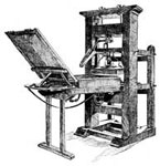 Benjamin Franklin's Life: Printing Press of Franklin's Time