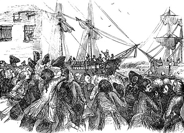 a history of the boston tea party in the revolutionary war Boston tea party: boston tea party, precursor to the american revolution in which tea belonging to the british east india company was thrown into boston harbor.