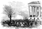 Bull Run Civil War: A Salute of 100 Guns Fired in Front of the State House, Richmond, Virginia After the Battle of Bull Run