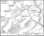 Bull Run Maps: Plan of the Bull Run Battlefield