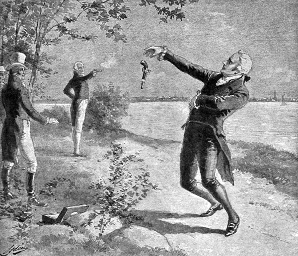 effects of hamilton burr duel Alexander hamilton and aaron burr dueled to the death july 11, 1804 on the morning of july 11, 1804, alexander hamilton and aaron burr raised their dueling pistols and took aim.
