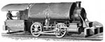 California Gold Rush Pictures: Mine Locomotive