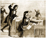 Charles Sumner: Assault on Charles Sumner