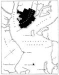 Charleston Harbor: Plans of Forts and Harbors at Fort Charleston