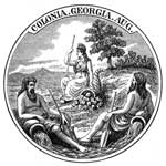 Colonial Georgia: Seal of Georgia Tustees
