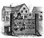 Colonial Massachusetts: In the Stocks