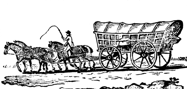 chuck wagon coloring page - free coloring pages of trail wagons