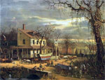 Conestoga Wagons: American Scenery - The Inn on the Roadside
