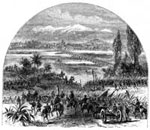 Conquest of Mexico: The Army Coming in Sight of the Valley of Mexico