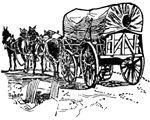 Covered Wagons: A Covered Wagon