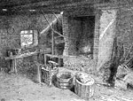 Cyrus McCormick: Interior of the Blacksmith Shop Where the First Reaper was Built