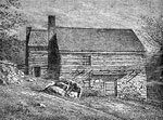 Cyrus McCormick: Exterior of the Blacksmith Shop Where the First Reaper was Built