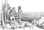 Daniel Boone Pictures: Daniel Boone's First Glimpse of Kentucy