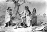 Daniel Boone Pictures: Daniel Boone and Friends Rescuing his Daughter