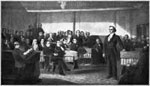 Daniel Webster: Daniel Webster Delivering a Speech Against Doctrine of Nullification, 1830