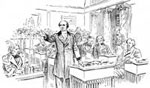 Daniel Webster: Webster Addressing the Senate on the 7th of March