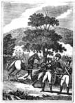 Edward Braddock: Retreat of Braddock's Army