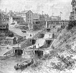 Erie Canal: Locks on the Erie Canal