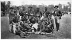 Fair Oaks Battle: Regulars Near Fair Oaks - Officers of McClellan's Horse Artillery Brigade