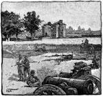 Fair Oaks Battle: A View of Fair Oaks Station
