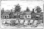 Fair Oaks Battle: Heyer's House Near Fair Oaks Used as a Union Hospital