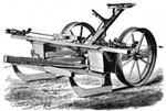 Farming Inventions: Two-Rowed Corn Planter