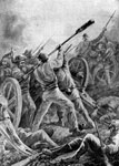 First Battle of Bull Run: Fighting for Ricketts' Guns