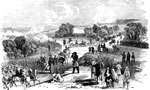 First Bull Run: The Federal Army Advancing, July 21, 1861