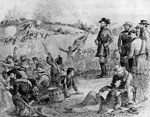 First Bull Run: General Thomas J. Stonewall Jackson at the Battle of Bull Run, First Manassas, July 21, 1861