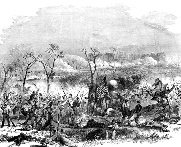 Fort Donelson Battlefield Gallant Charge Of The 17th 48th And 49th 111 Regiments