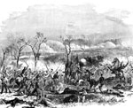 Fort Donelson Battlefield: Gallant Charge of the 17th, 48th, and 49th 111 Regiments Led by Col. Morrison at Fort Donelson on Feb. 13, 1862