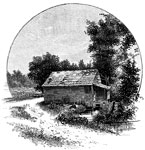 Fort Donelson Civil War: Rowlett's Mill, on the Eddyville Road at Hickman's Creek