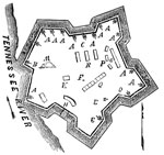 Fort Henry: Plan of Fort Henry