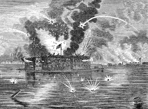 battle of fort sumter Americancivilwarphotoscom is a photo blog dedicated to the photography of the american civil war.