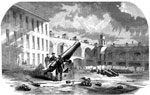 Fort Sumter Battle: A 10 inch Columbiad mounted as a mortar at Fort Sumter